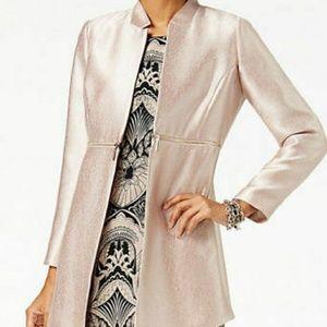 Alfani Modern Rose Metallic Topper Jacket